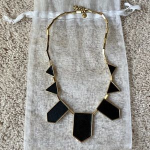 Black and Gold House of Harlow Necklace